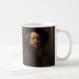 Rembrandt van Rijn's Self Portrait Fine Art Coffee Mug