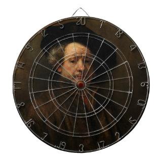 Rembrandt van Rijn's Self Portrait Fine Art Dartboard