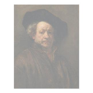 Rembrandt van Rijn's Self Portrait Fine Art Letterhead