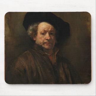 Rembrandt van Rijn's Self Portrait Fine Art Mouse Pad