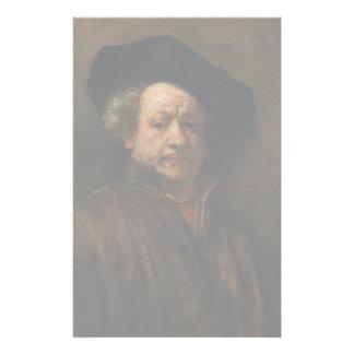 Rembrandt van Rijn's Self Portrait Fine Art Stationery