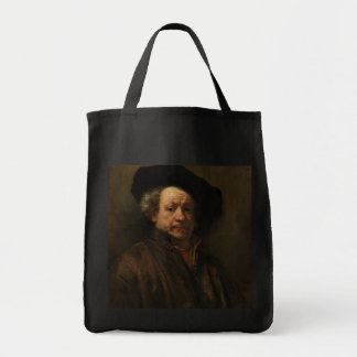 Rembrandt van Rijn's Self Portrait Fine Art Tote Bag