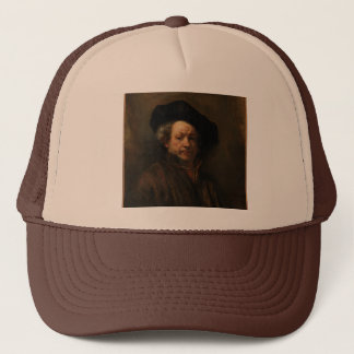 Rembrandt van Rijn's Self Portrait Fine Art Trucker Hat