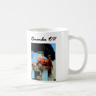 Remember 9/11 coffee mug