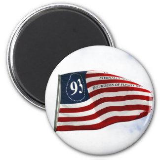 Remember 9/11 - Flight 93 2 Inch Round Magnet