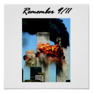 Remember 9/11 poster