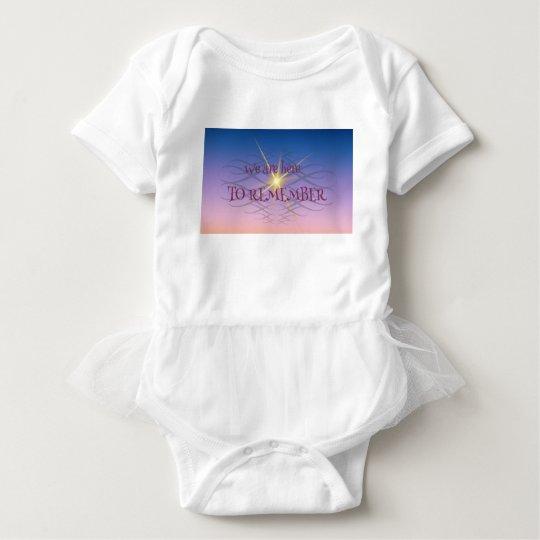 Remember Baby Bodysuit