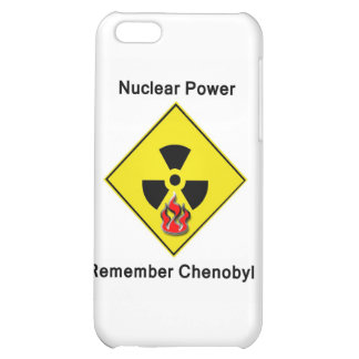 Remember Chenobyl Anti Nuclear Logo iPhone 5C Cases