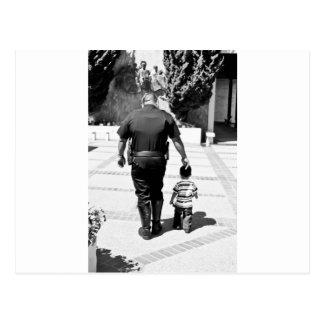 Remember Cops Care Postcard