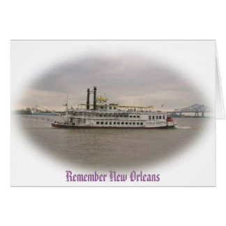 Remember Crusing New Orleans Card