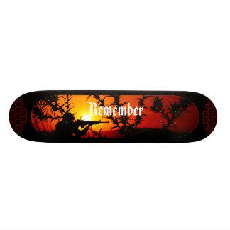 Remember Custom Skate Board