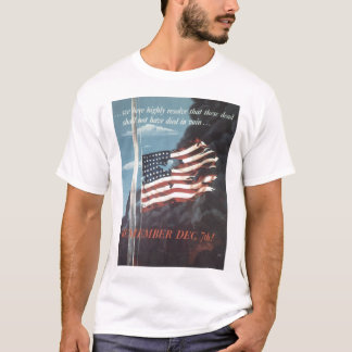 Remember Dec. 7th World War II T-Shirt