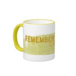 remember everyday ringer mug