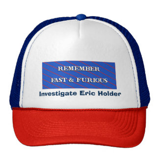 Remember Fast and Furious Trucker Hat