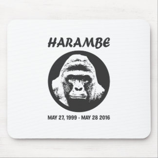 Remember Harambe Mouse Pad