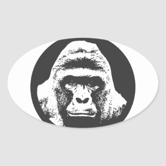 Remember Harambe Oval Sticker