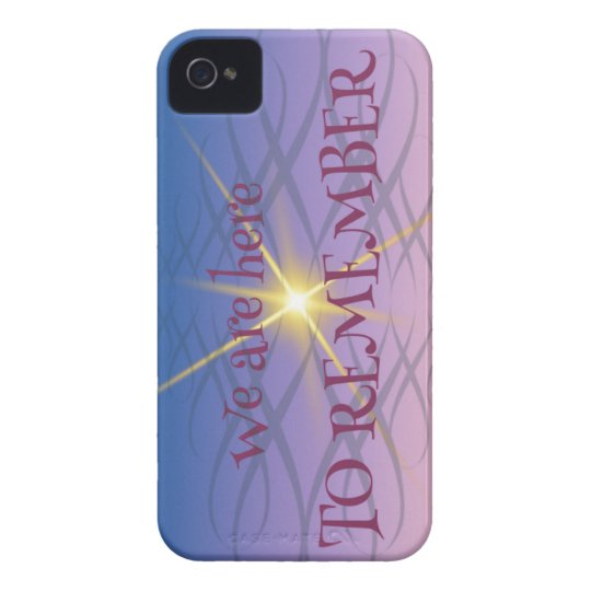 Remember iPhone 4 Case