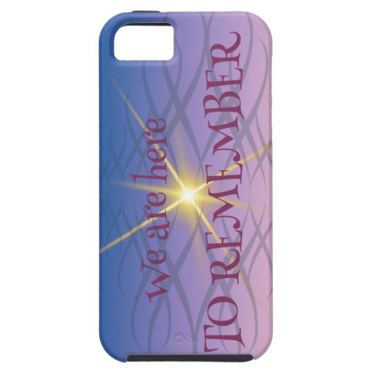 Remember iPhone 5 Cover