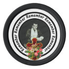 Remember Loved One Frame Circle Add Your Photo Poker Chips