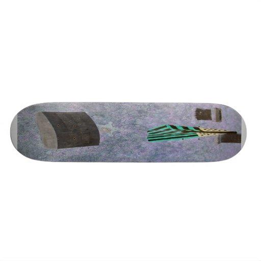 Remember Me 1 Skateboard ( Grave Vet Memorial )