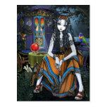 Remember Me Bohemian Gypsy Fortune Teller Postcard