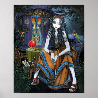 Remember Me Bohemian Neo Gypsy Caravan Fae Poster