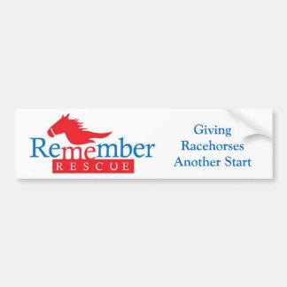 Remember Me bumper sticker