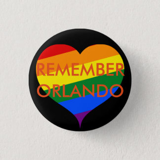 Remember Orlando Memorial Button