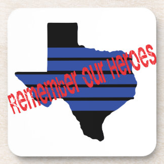 remember our heroes drink coasters