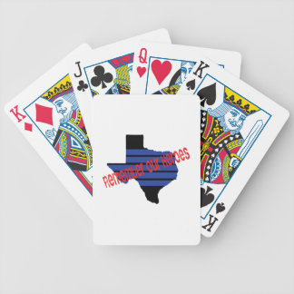 remember our heroes poker deck