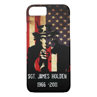 Remember Our Troops! Patriot iPhone 7 Case