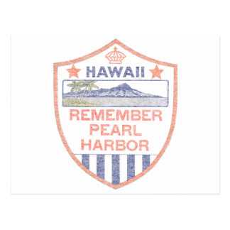 Remember Pearl Harbor Postcard