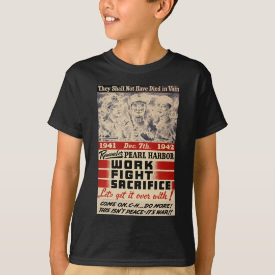 Remember Pearl Harbour T-Shirt