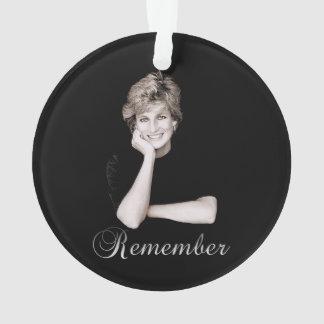 Remember Princess Diana Ornament