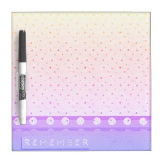 Remember Rainbow Dry Erase Board