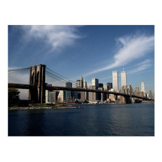 Remember Reflection ~ Twin Towers WTC NYC Postcard