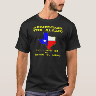 Remember The Alamo #003 T-Shirt