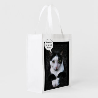Remember the Cat Food (customizable) Reusable Grocery Bag