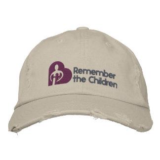 Remember the Children Basic Hat Embroidered Baseball Caps