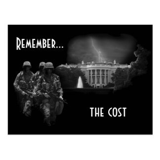 Remember...the cost postcard