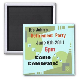Remember The Date Magnet Template