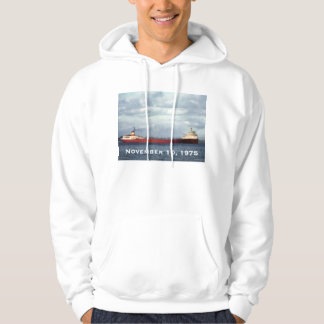 Remember the Edmund Fitzgerald 11/10/75 Hoodie