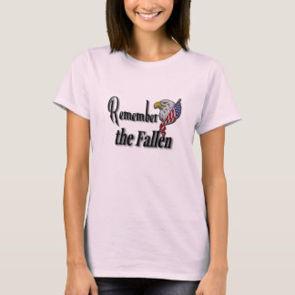 Remember the Fallen Personalized T-Shirt