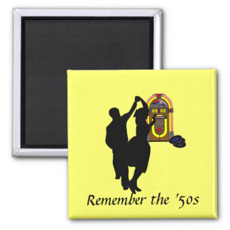 """Remember the Fifties"" Magnet"