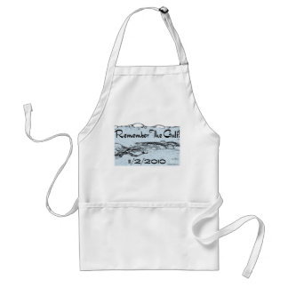 Remember The Gulf Apron