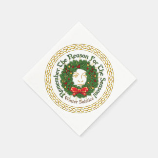 Remember The Reason Yuletide Wreath-Paper Napkins