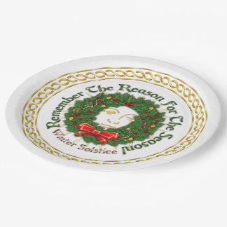 Remember The Reason Yuletide Wreath - Paper Plate