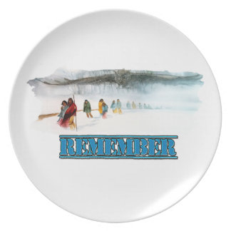 Remember the Trail of Tears Plate