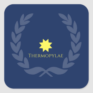 Remember Thermopylae Stickers