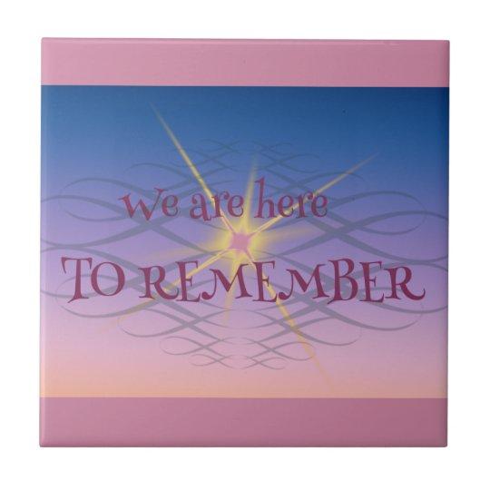 Remember Tile